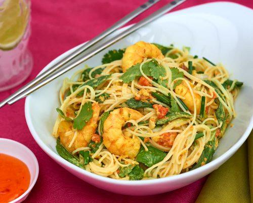 Recipe_Crab_and_prawn_Vermicelli_Noodle_salad