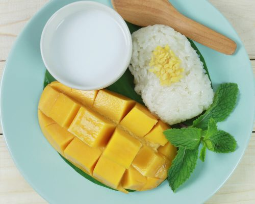 Recipe_Lemongrass_and_Mango_Sticky_Rice_Pudding