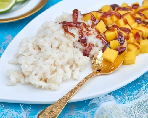 Recipe_Sweet_palm_sugar_and_coconut_sticky_Mango_rice
